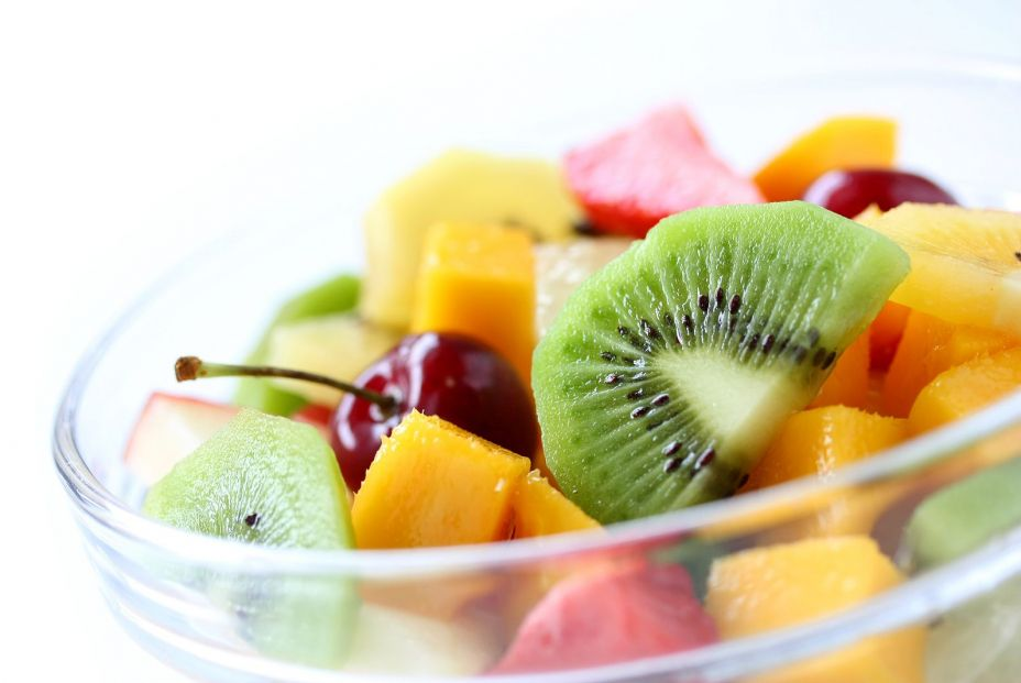 bigstock Fresh fruits salad on white ba 26006216