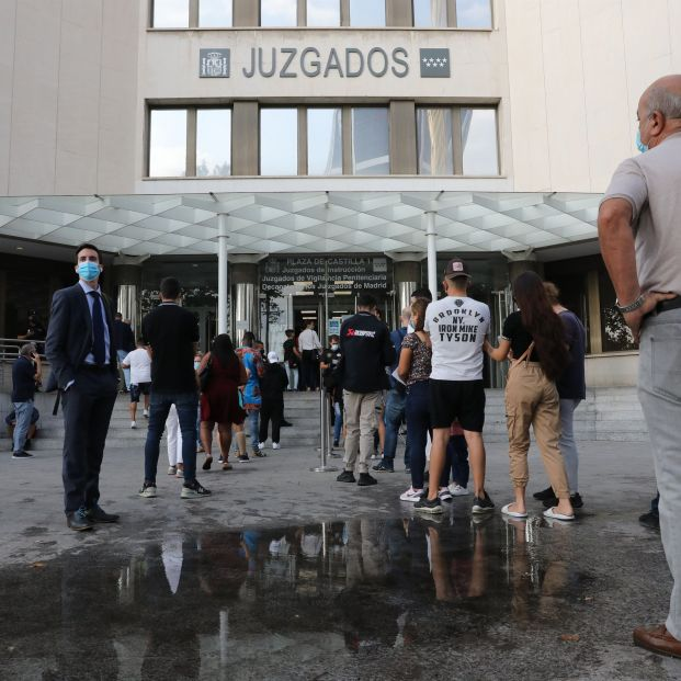 Juzgados de Plaza Castilla. Foto: Europa Press