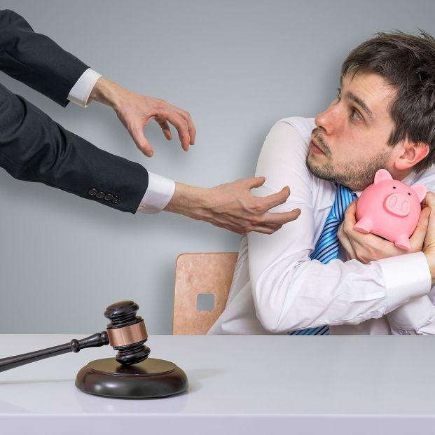 ¿Qué me pueden embargar en caso de deuda? Foto: bigstock