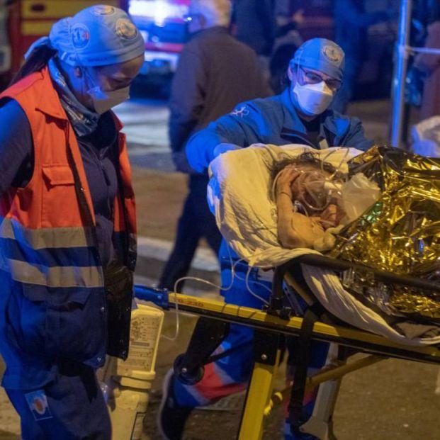 El incendio de la residencia de mayores de Sevilla pudo originarse en un almacén. Foto: Europa Press