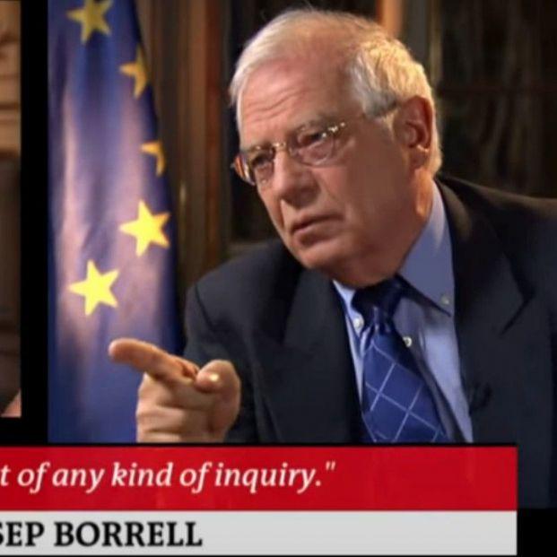 Vídeo: Borrell para una entrevista al ser preguntado por Cataluña