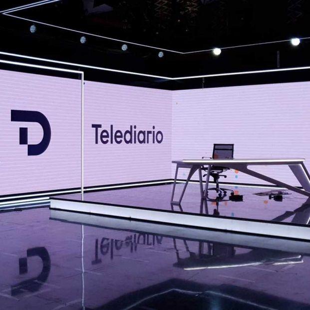 La renovación radical de la imagen del Telediario de TVE, aplazada por Filomena