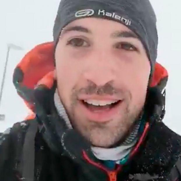 Un MIR corre 17 kilómetros por la nieve para llegar a su guardia en el Puerta de Hierro de Madrid