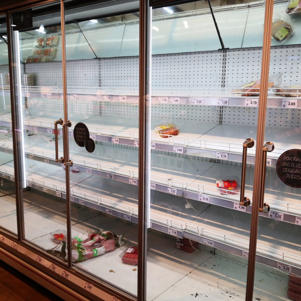 Supermercados: 'Filomena' despierta el fantansma del desabastecimiento