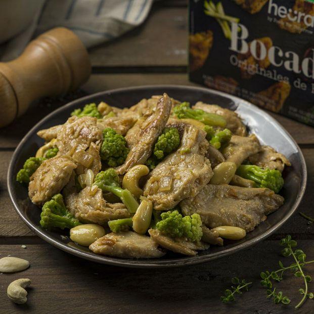 Heura, la carne vegetal de moda que parece pollo