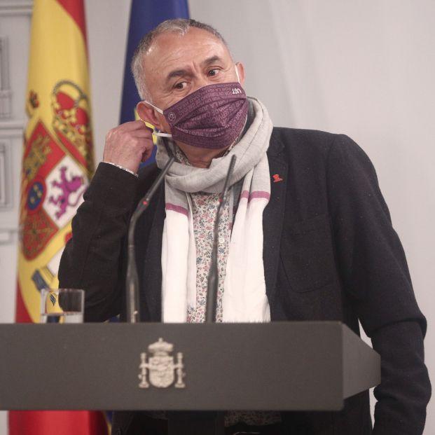 """Pepe Álvarez (UGT) denuncia que ampliar el cálculo de las pensiones es """"recortarlas"""""""