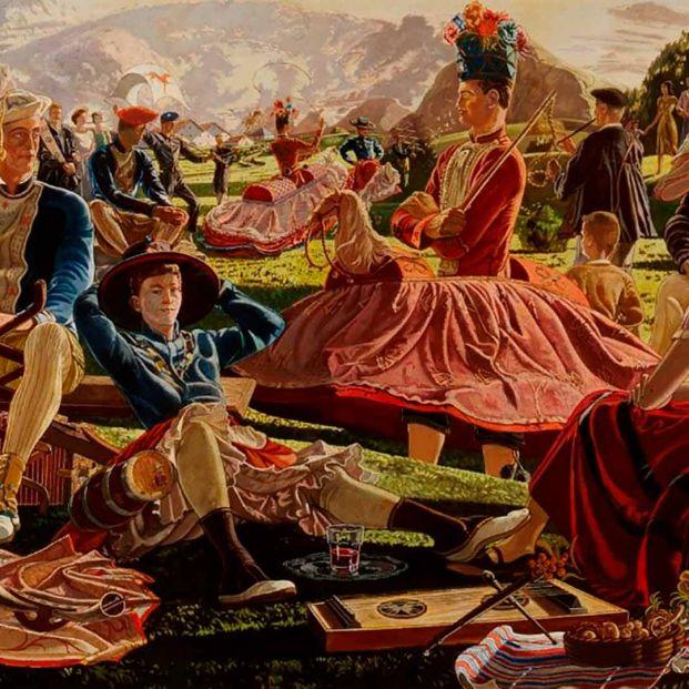 'Bilbao y la pintura', un recorrido pictórico por la villa a finales del XIX y principio del XX