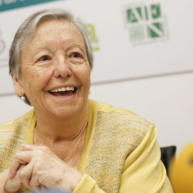 María Galiana, rescatada de 'Filomena' por el Ejército