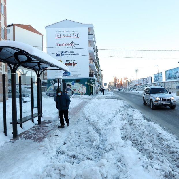 Correos cancela el reparto en las zonas más afectadas por las nevadas
