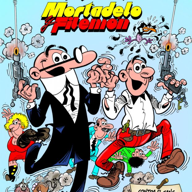 Los mejores personajes de cómic españoles: Mortadelo y Filemón (Ediciones B)