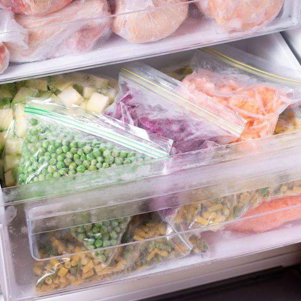 Fecha de caducidad de los alimentos congelados