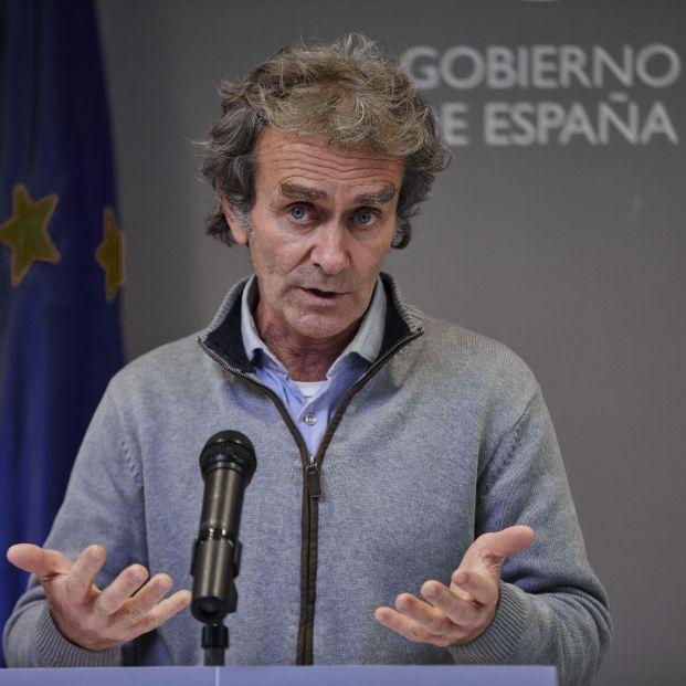 """Fernando Simón: """"En una o dos semanas veremos que la letalidad del Covid irá disminuyendo"""""""