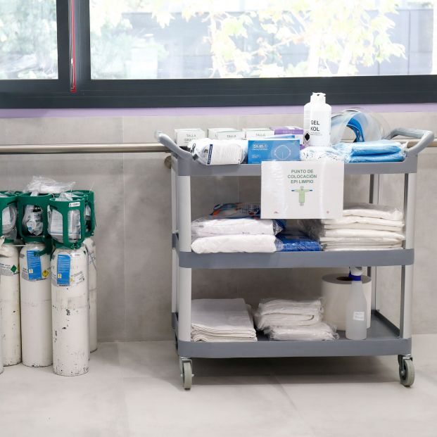 Alertan de un fraude a residencias con ofertas de material sanitario gratis -  Foto: Europa Press