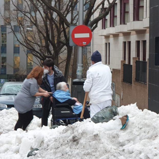Explosión en Madrid: Los mayores de la residencia pegada al edificio, a salvo