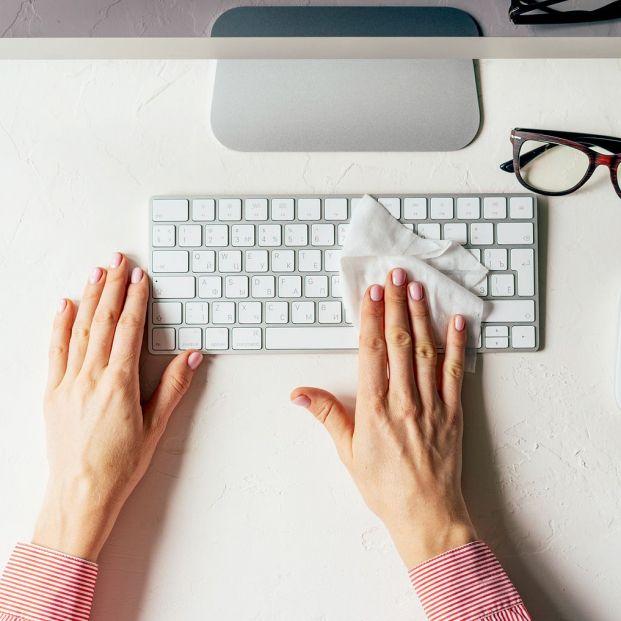 Trucos para limpiar el teclado del ordenador