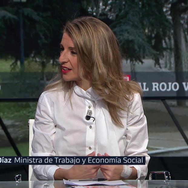 Yolanda Díaz asegura que la reforma de las pensiones respetará el acuerdo del Pacto de Toledo