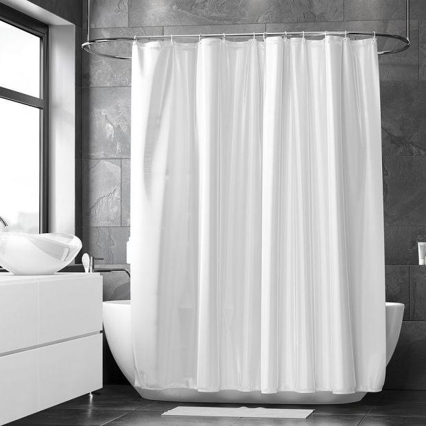 Trucos para tener la cortina de la ducha siempre limpia