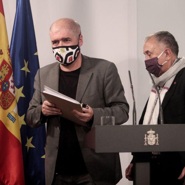 Sindicatos exigen eliminar los límites temporales a la cláusula de salvaguarda de las pensiones  Foto: Europa Press