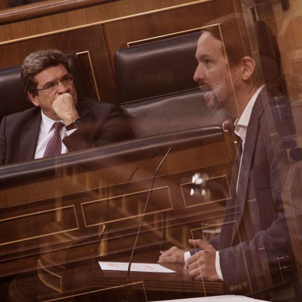 El zasca del ministro Escrivá a Pablo Iglesias en directo
