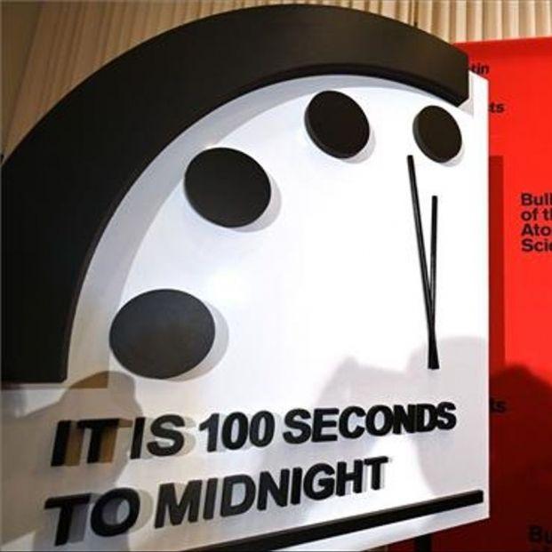 El 'Reloj del Juicio Final', a 100 segundos del apocalipsis