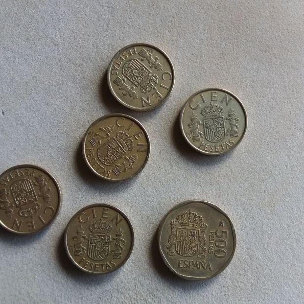 ¿Cuántas pesetas tienes aún en casa?