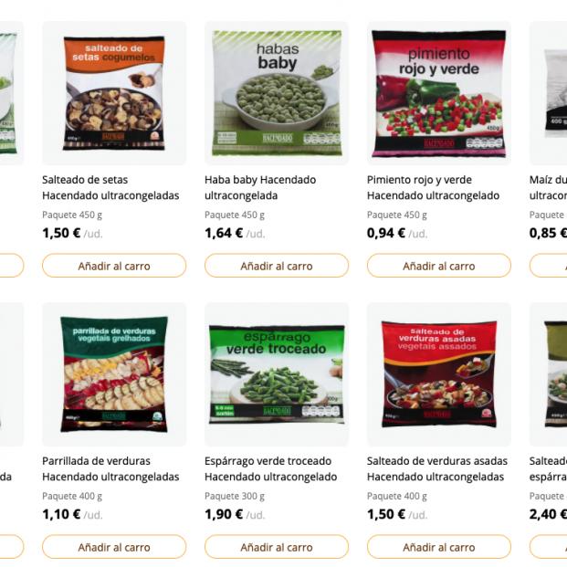 Los productos congelados más sanos de Mercadona