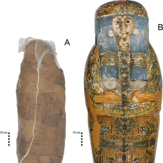El método 'low cost' de los antiguos egipcios para envolver a las momias