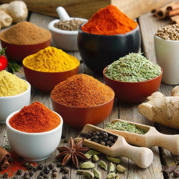 Especias y condimentos para restar calorías