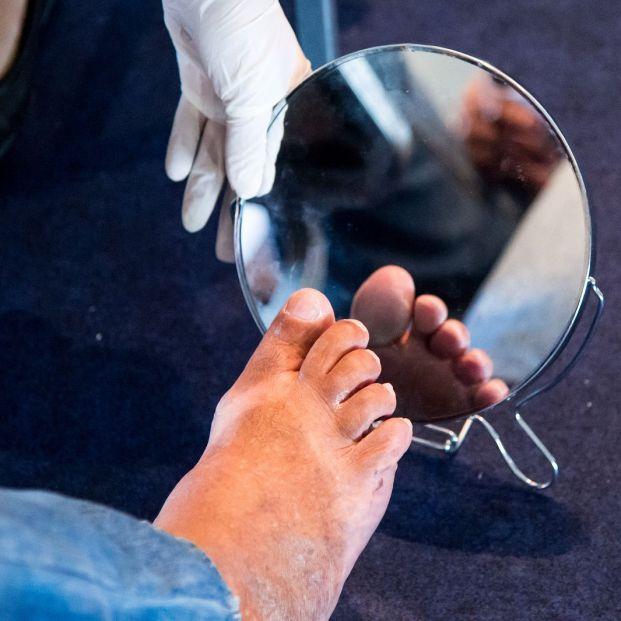 Importancia del cuidado de los pies en personas diabéticas (Big stock)