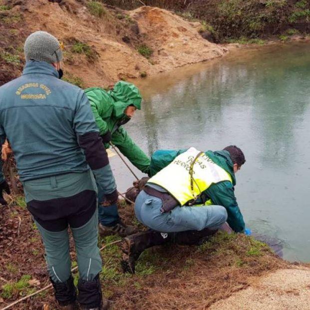 Encuentran en un pozo el cadáver de una octogenaria a la que buscaban en Ourense