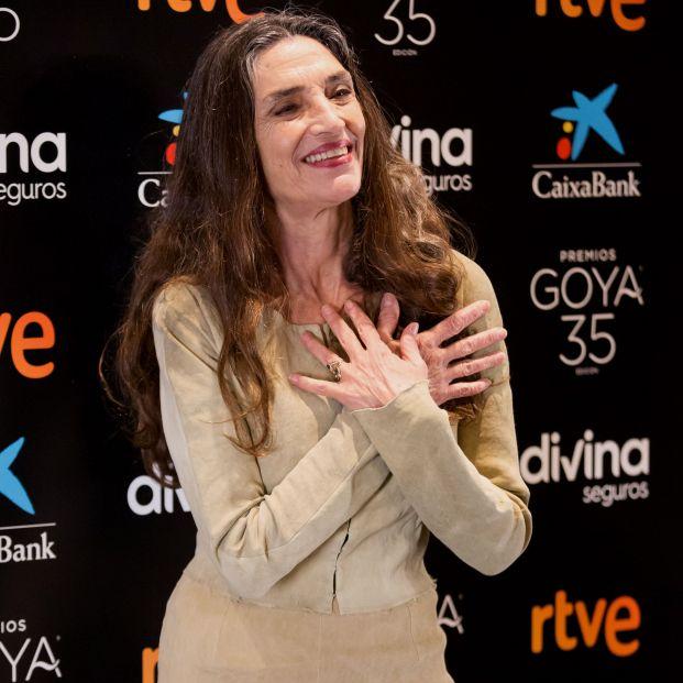"""Ángela Molina: """"El cine se está salvando milagrosamente del coronavirus"""""""