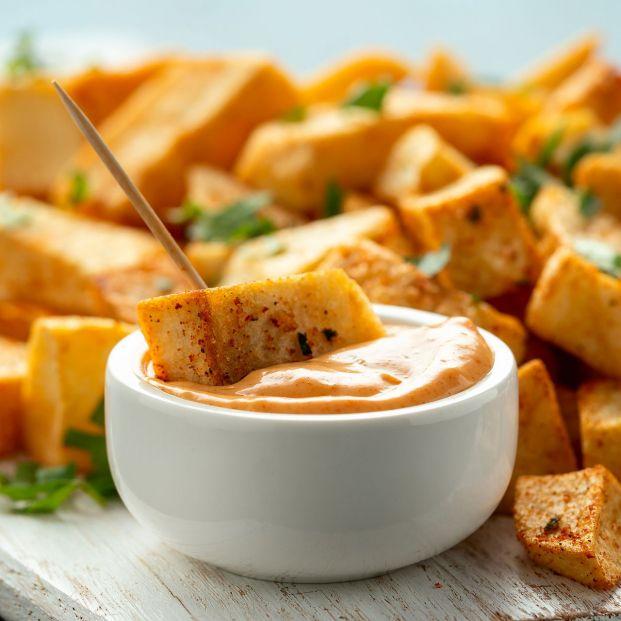El truco definitivo para hacer patatas bravas como las del bar