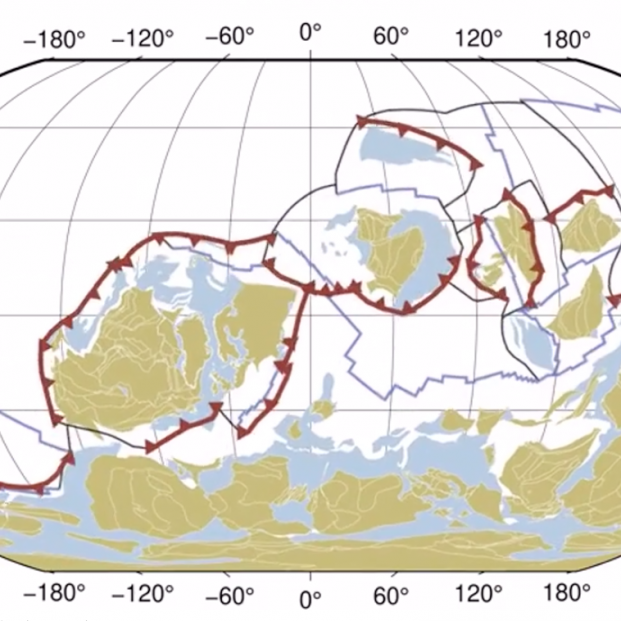 Vídeo: Mil millones de años de deriva continental en 40 segundos