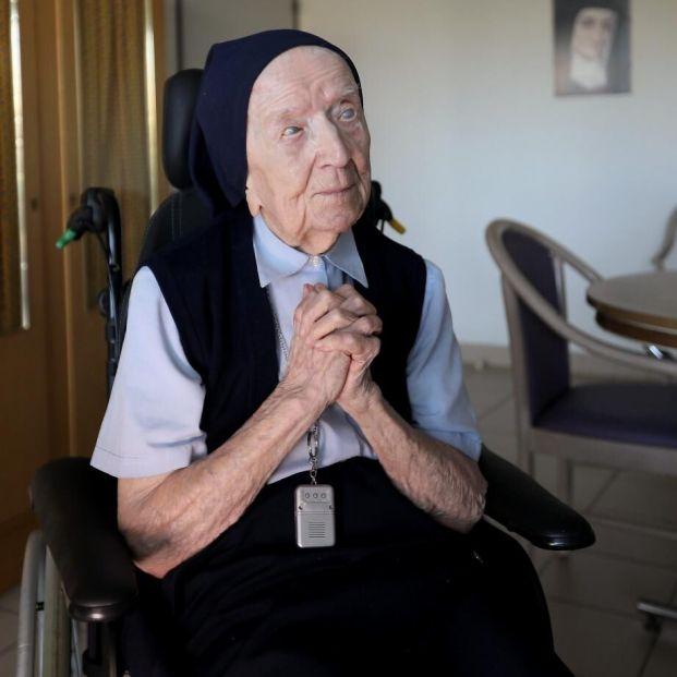 Lucile Randon, la europea más longeva, supera el coronavirus a los 117 años