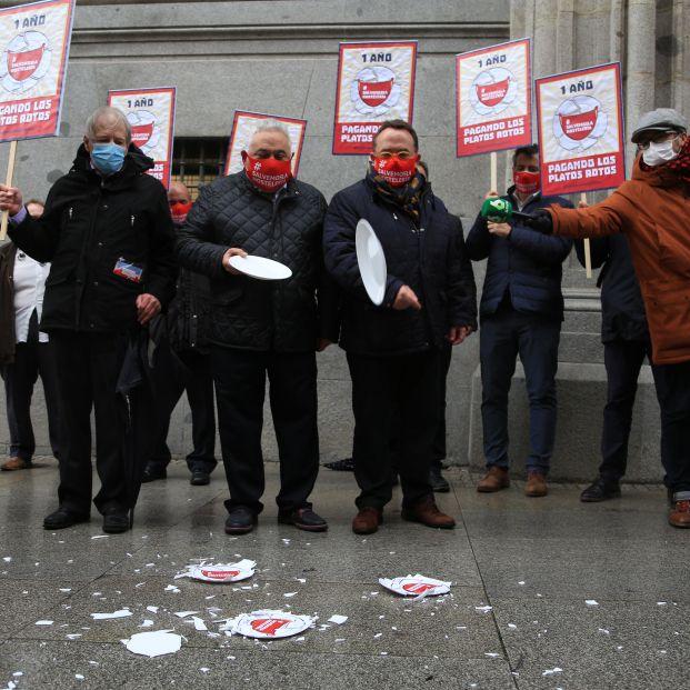 Artículo de opinión firmado por Fernando Ónega, sobre las gran protesta del sector de bares y restaurantes.