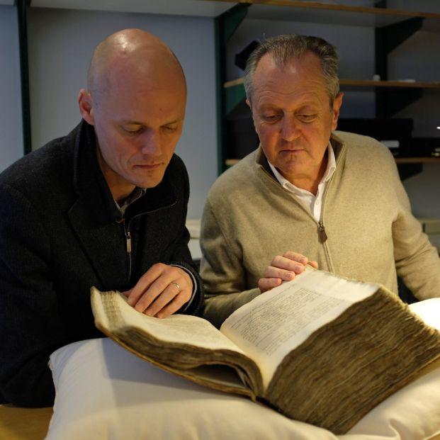 Hallan un manuscrito perdido del hijo de Colón