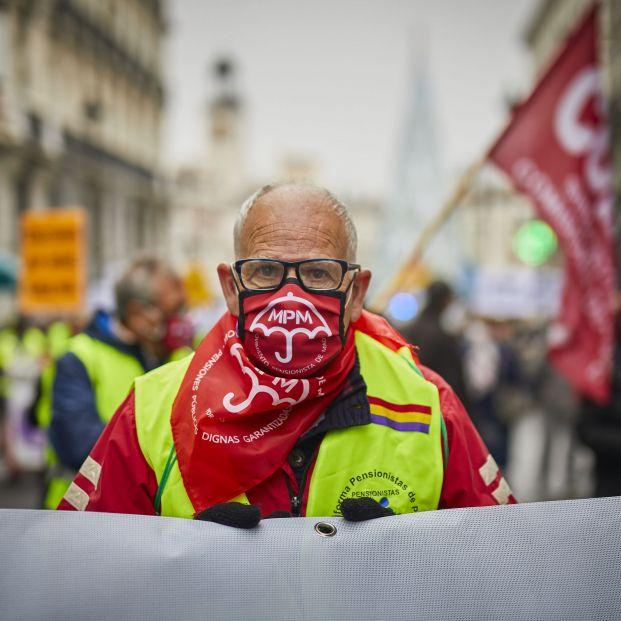 Los pensionistas siguen en las calles: Pese al Covid, imparables, continúan con sus reivindicaciones