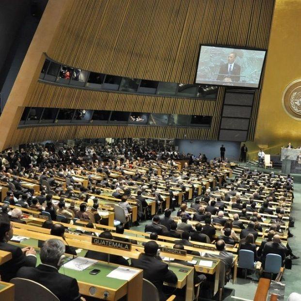 Asamble General de Naciones Unidas. Foto: EuropaPress