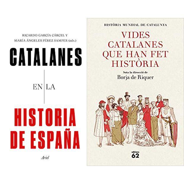 Dos libros sobre la vida de catalanes ilustres, entre los más vendidos del año 2020