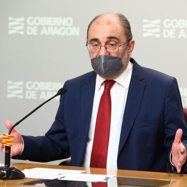 Javier Lambán, presidente de Aragón, anuncia que sufre un cáncer de colon