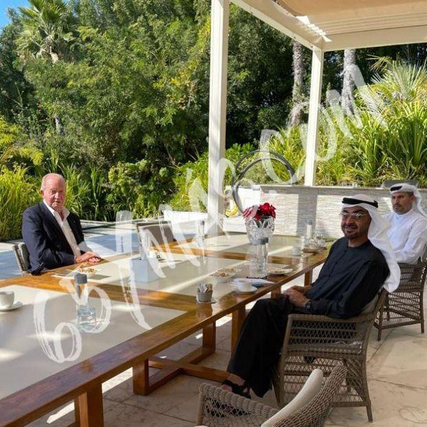 La fotografía que demuestra el buen estado de salud del rey Juan Carlos