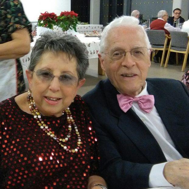 Pilar Ruíz y Jaime Beneyto, residentes en Trabensol.