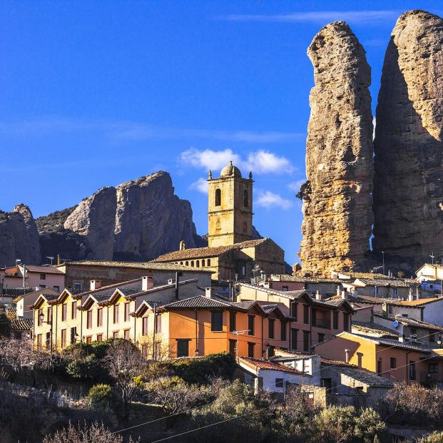 Descubrimos Agüero (Huesca) uno de los tesoros secretos de Europa Foto: bigstock