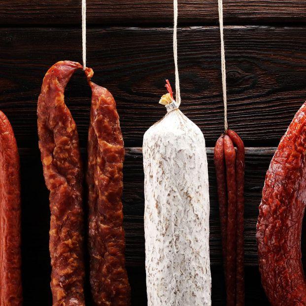 El salchichón: ¿mejor en la nevera o fuera? Foto: bigstock