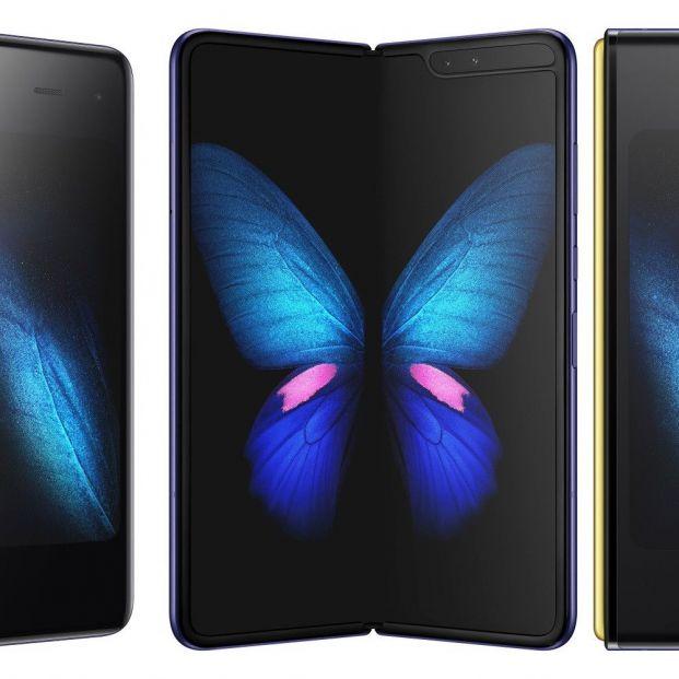 Qué sabemos hasta ahora de los móviles con pantalla flexible. Samsung Galaxy Fold (Samsung)