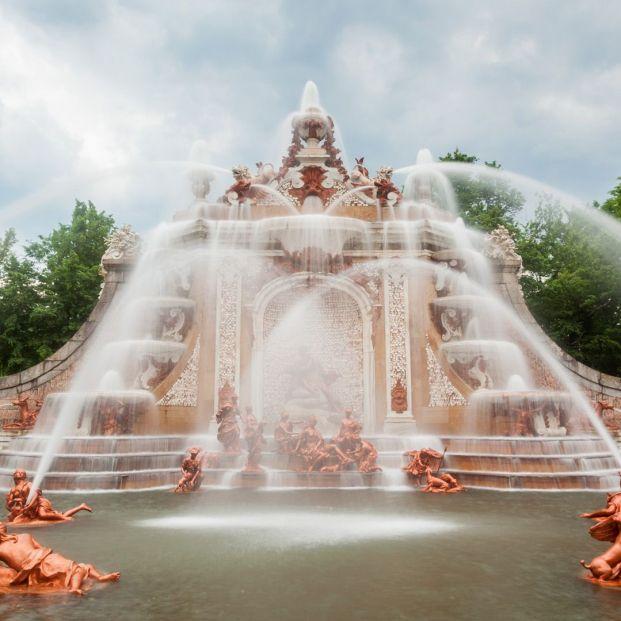 Palacios Reales: jardines y fuente del palacio de La Granja de San Ildefonso (web Patrimonio Nacional)
