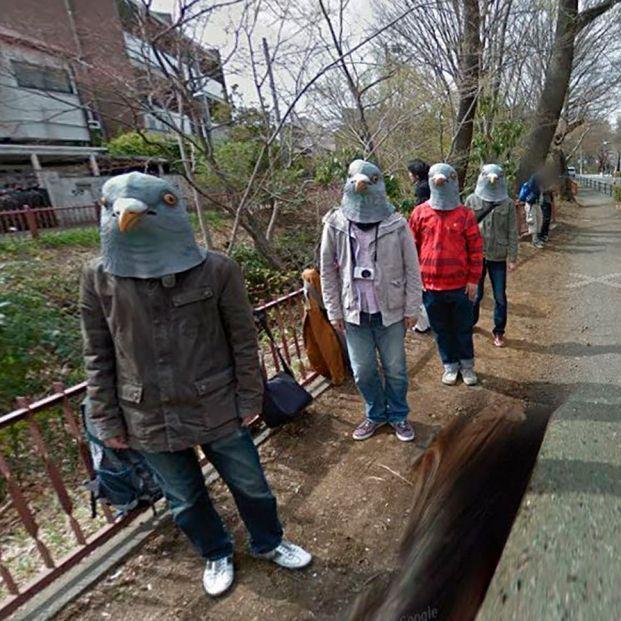 Las cosas más raras que puedes ver en Google Maps Foto: Google Street View