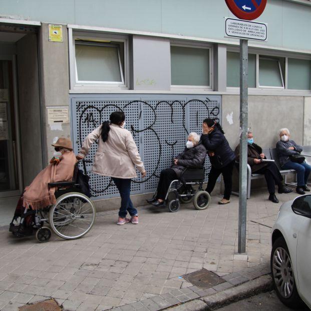 Vacunación mayores Madrid. Foto: Pablo Recio
