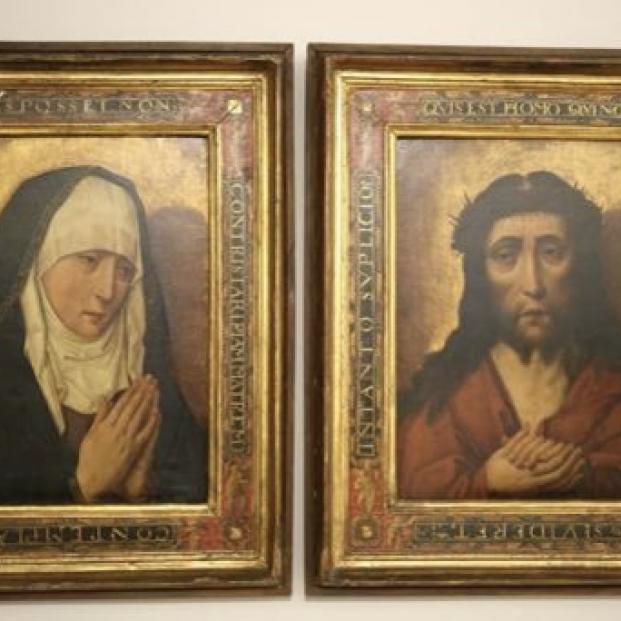 El Museo de Pontevedra expone antes de su devolución las obras procedentes del expolio nazi. Foto: Diputación de Pontevedra