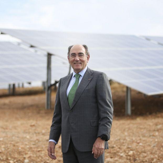 EuropaPress 3528246 presidente iberdrola ignacio galan planta andevalo